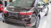 New Toyota Corolla Altis 1.8G (facelift) rear three quarters