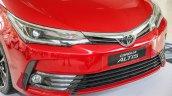 New Toyota Corolla Altis 2.0V (facelift) front fascia