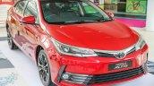 New Toyota Corolla Altis 2.0V (facelift) front three quarters