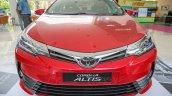 New Toyota Corolla Altis 2.0V (facelift) front