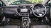 New Toyota Corolla Altis 2.0V (facelift) interior dashboard