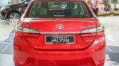 New Toyota Corolla Altis 2.0V (facelift) rear