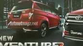 New Toyota Innova Venturer rear leaked
