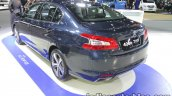 Peugeot 408 e-THP rear three quarters at 2016 Thai Motor Expo