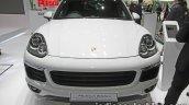 Porsche Cayenne S E-Hybrid Platinum Edition front at 2016 Thai Motor Expo