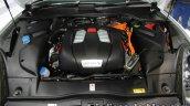 Porsche Cayenne S E-Hybrid Platinum Edition hybrid system at 2016 Thai Motor Expo