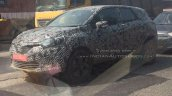 Renault Captur front three quarter spotted in India