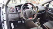 Renault Clio R.S. Trophy 220 interior at 2016 Bologna Motor Show