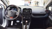 Renault Clio R.S. Trophy 220 interior dashboard at 2016 Bologna Motor Show