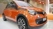 Renault Twingo GT front three quarters at 2016 Bologna Motor Show