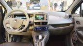 Renault Zoe interior dashboard at 2016 Bologna Motor Show