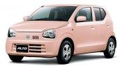 Suzuki Alto Coffret Pink Pearl metallic front three quarters