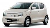 Suzuki Alto Phone Beige metallic front three quarters