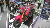Suzuki GSX-S750 fornt three quarter left at Thai Motor Expo