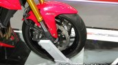 Suzuki GSX-S750 front wheel at Thai Motor Expo