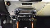 Suzuki Ignis iUNIQUE HVAC controls at 2016 Bologna Auto Show
