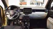 Suzuki Ignis interior dashboard at 2016 Bologna Motor Show