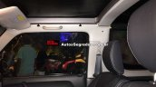 Suzuki Jimny Canvas front seats Brazil spy shot