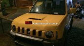 Suzuki Jimny Canvas front three quarters Brazil spy shot