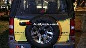 Suzuki Jimny Canvas rear Brazil spy shot