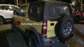 Suzuki Jimny Canvas rear three quarters Brazil spy shot