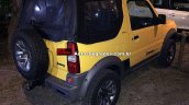 Suzuki Jimny Canvas rear three quarters right side Brazil spy shot