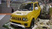 Suzuki Jimny Shinsei front three quarters at 2016 Bologna Motor Show