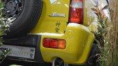 Suzuki Jimny Shinsei rear details at 2016 Bologna Motor Show