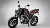 Suzuki SV650 Scrambler front three quarter left