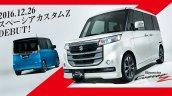 Suzuki Spacia Customz exterior