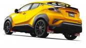 Toyota C-HR TRD Extreme Style rear launched