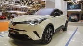 Toyota C-HR front three quarters at 2016 Bologna Motor Show