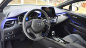 Toyota C-HR interior at 2016 Bologna Motor Show