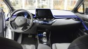 Toyota C-HR interior dashboard at 2016 Bologna Motor Show