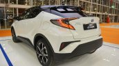 Toyota C-HR rear three quarters at 2016 Bologna Motor Show