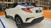 Toyota C-HR rear three quarters at 2016 Bologna Motor Show
