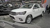 Toyota Hilux Revo front three quarters at 2016 Thai Motor Expo
