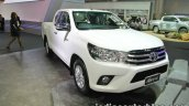 Toyota Hilux Revo front three quarters right side at 2016 Thai Motor Expo