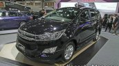 Toyota Innova Crysta front three quarters at 2016 Thai Motor Expo