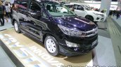 Toyota Innova Crysta front three quarters right side at 2016 Thai Motor Expo