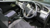 Toyota Innova Crysta interior at 2016 Thai Motor Expo
