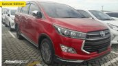 Toyota Innova Venturer Wine Red spy shot