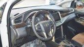 Toyota Innova interior at 2016 Oman Motor Show