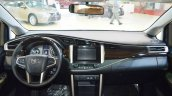 Toyota Innova interior dashboard at 2016 Oman Motor Show