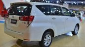 Toyota Innova rear three quarters at 2016 Oman Motor Show