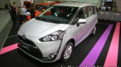 Toyota Sienta front three quarters at 2016 Thai Motor Expo