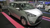 Toyota Sienta front three quarters right side at 2016 Thai Motor Expo