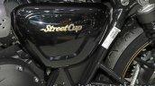 Triumph Street Cup airbox at Thai Motor Expo