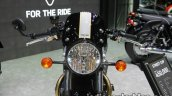 Triumph Street Cup headlamp and wind deflector at Thai Motor Expo