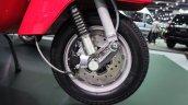 Vespa PX125 front wheel at Thai Motor Expo